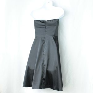 White House Black Market Dresses - WHBM A Line Dress Party/Cocktail Dress Black LBD 6